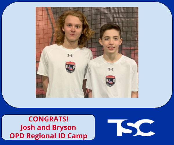 ODP - Boys Regional Success